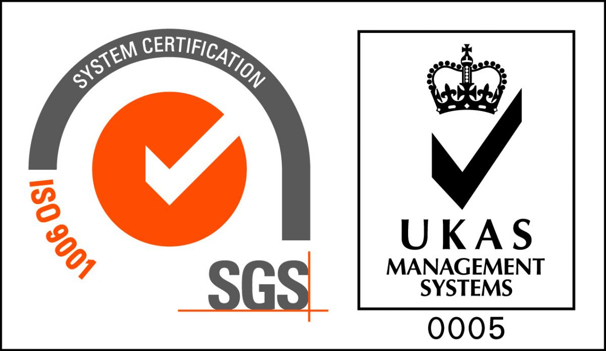 ISO 9001 Accrediation Logo